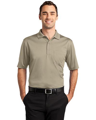 Cornerstone CS412P Men Select Snag-Proof Pocket Polo at GotApparel