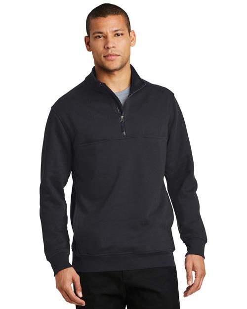 Cornerstone CS626 Men   1/2-Zip Job Shirt at GotApparel