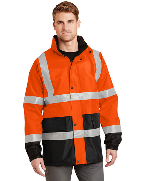 Cornerstone CSJ24 Men Ansi 107 Class 3 Waterproof Parka at GotApparel