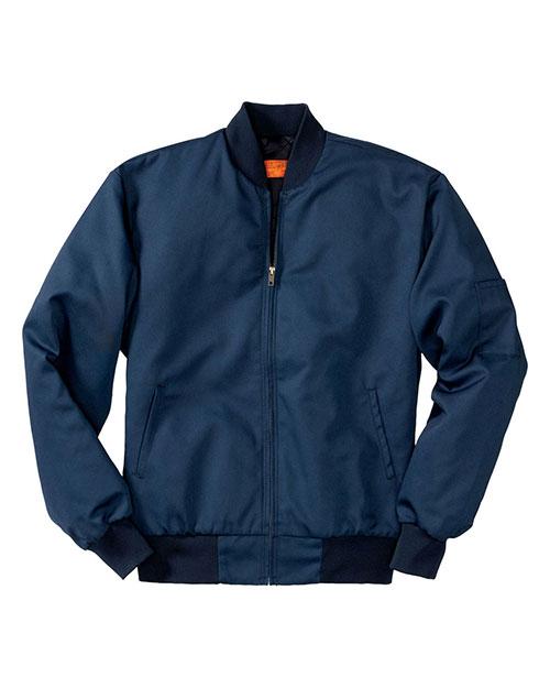 Red Kap CSJT38 Men Team Style Jacket With Slash Pocket at GotApparel