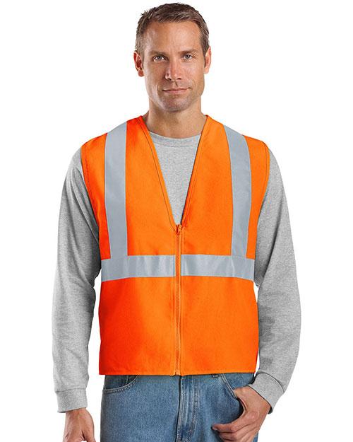 Cornerstone CSV400 Men Ansi 107 Class 2 Safety Vest at GotApparel