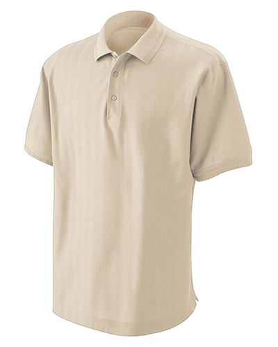 Devon & Jones Classic D340 Men Herringbone Polo at GotApparel