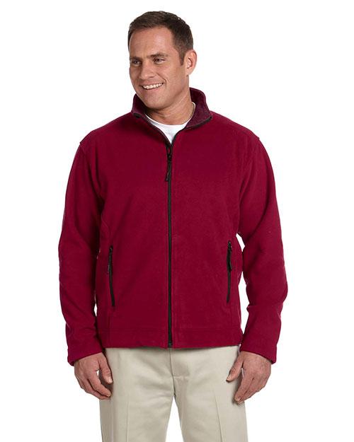 Devon & Jones Classic D765 Men Soft Shell Fleece Jacket at GotApparel