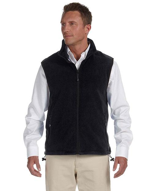 Devon & Jones Classic D770 Men Wintercept Fleece Vest Jacket at GotApparel