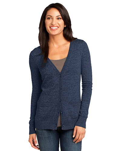 District Made DM415 Women Cardigan Sweater at GotApparel