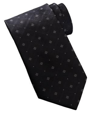 Edwards DT00 Men Dot And Diamond Pattern Tie at GotApparel