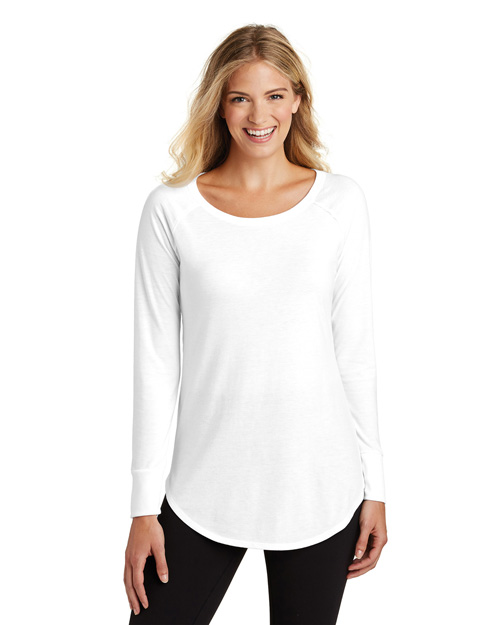 District Made DT132L Women Perfect Tri Long Sleeve Tunic   at GotApparel