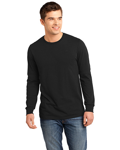 District DT5200 Men The Concert Tee  Long-Sleeve at GotApparel