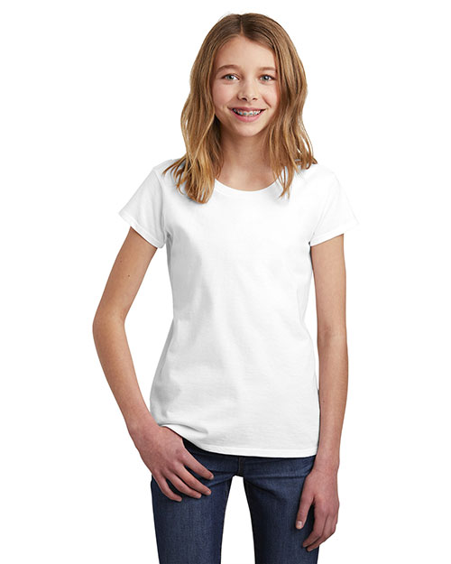 District DT6001YG Girls 4.3 oz Very Important Tee at GotApparel