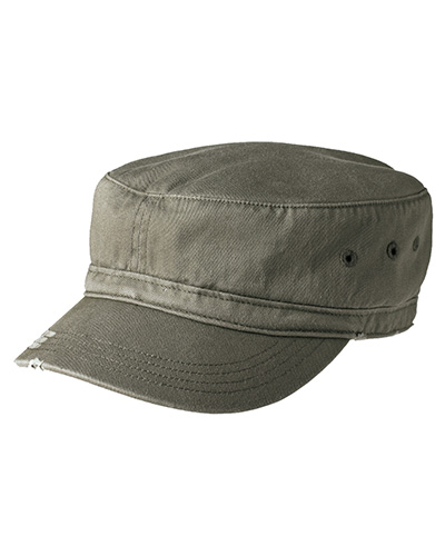 District DT605 Men Distressed Military Hat at GotApparel