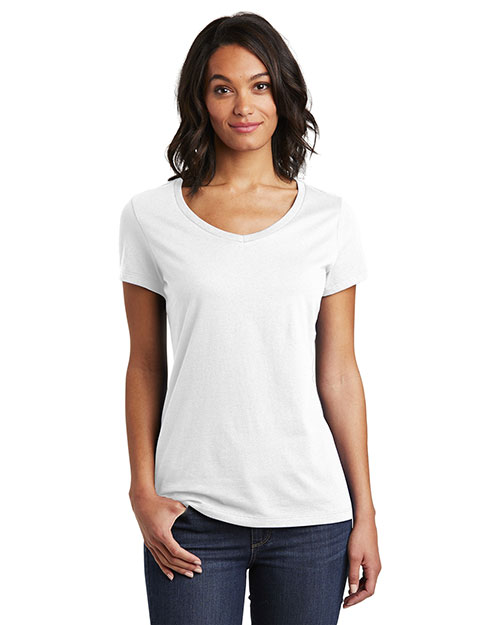 District DT6503 Women 4.3 oz Very Important Tee®V-Neck at GotApparel