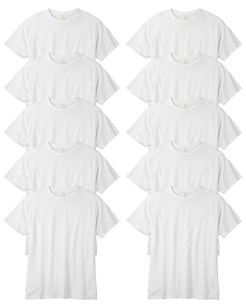 Custom Embroidered Econscious EC1000 Men 5.5 Oz. 100% Organic Cotton Classic Short-Sleeve T-Shirt 10-Pack at GotApparel