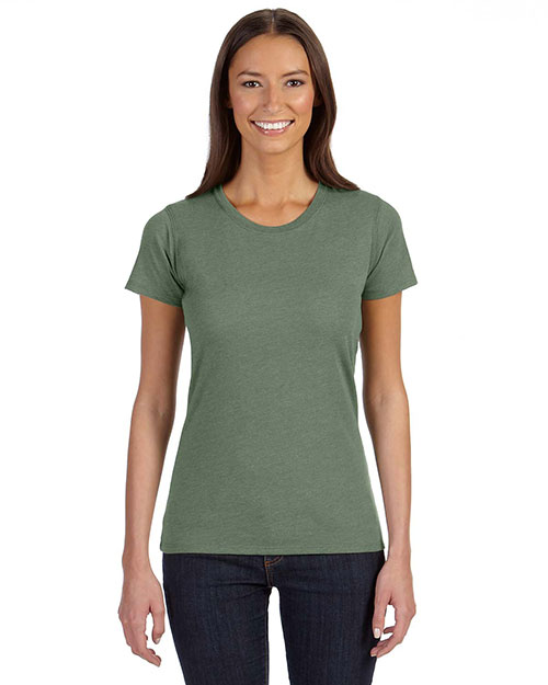 Custom Embroidered Econscious EC3800 Women 4.25 Oz. Blended Eco T-Shirt at GotApparel