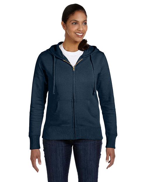 Custom Embroidered Econscious EC4501 Women 9 Oz. Organic/Recycled Full-Zip Hood at GotApparel