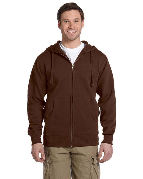 Custom Embroidered Econscious EC5650 Men 9 Oz. Organic/Recycled Full-Zip Hood at GotApparel