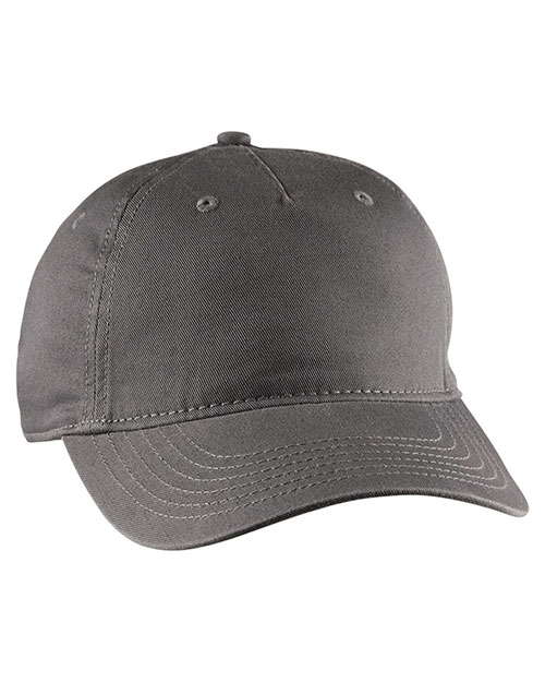Custom Embroidered Econscious EC7087 Unisex Twill 5-Panel Unstructured Hat at GotApparel