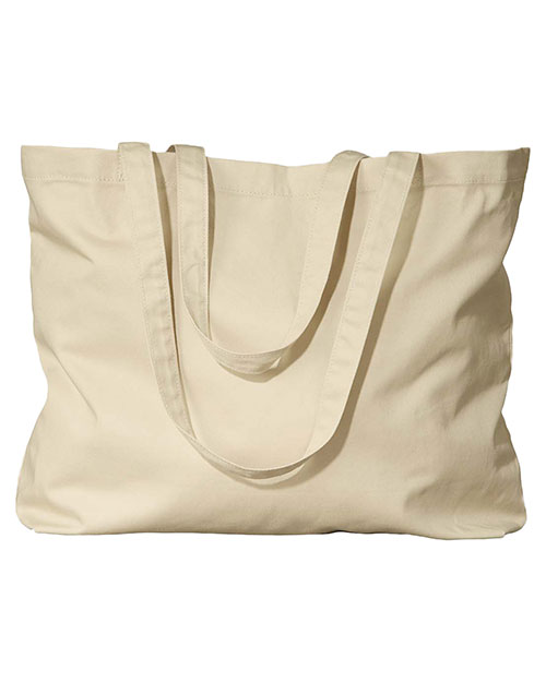 Custom Embroidered Econscious EC8001 Women Organic Cotton Large Twill Tote at GotApparel