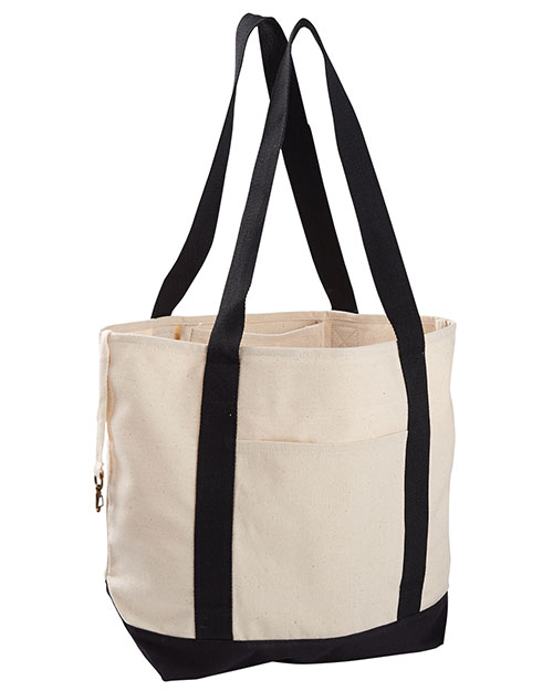 Custom Embroidered Econscious EC8035 Women 12 Oz. Organic Cotton Canvas Boat Tote Bag at GotApparel