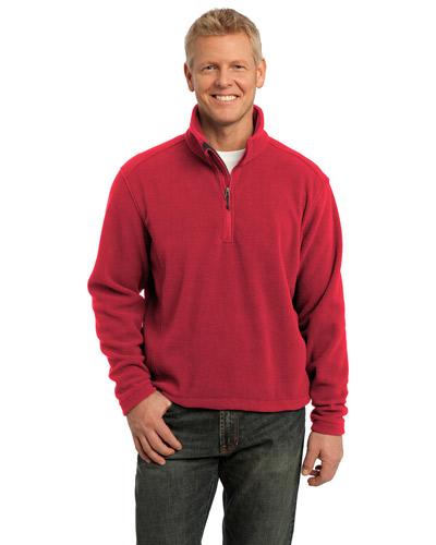 Port Authority TLF218 Men Tall Value Fleece 1/4Zip Pullover at GotApparel