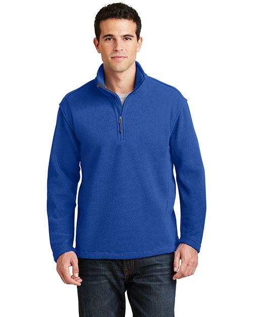 Port Authority F218 Men Value Fleece 1/4-Zip Pullover at GotApparel