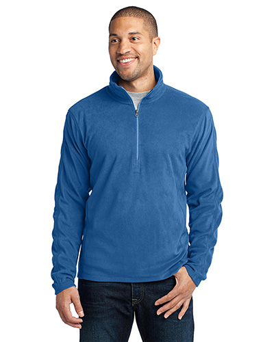 Port Authority F224 Men Microfleece 1/4-Zip Pullover at GotApparel