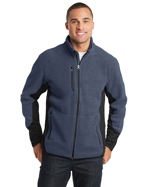 Port Authority F227 Men R-Tek Pro Fleece Full-Zip Jacket at GotApparel