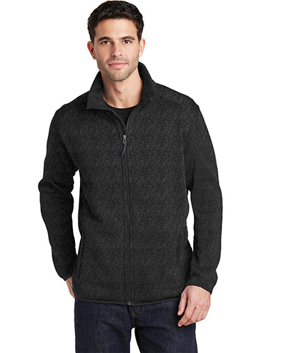 Port Authority F232 Adult Sweater Fleece Jacket at GotApparel