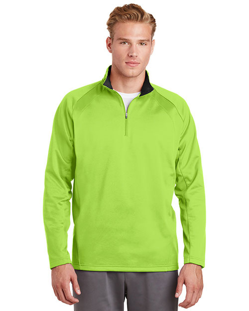 Sport-Tek® F243 Men Sportwick 1/4-Zip Fleece Pullover at GotApparel