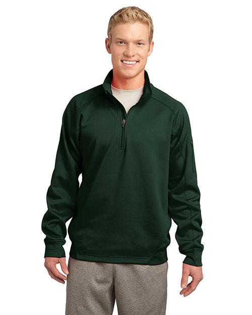 Sport-Tek® F247 Men Tech Fleece 1/4-Zip Pullover at GotApparel