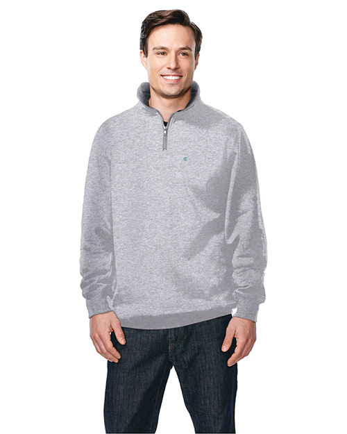 Tri-Mountain F681 Men Viewpoint Full-Zip Knit Hooded Jacket at GotApparel