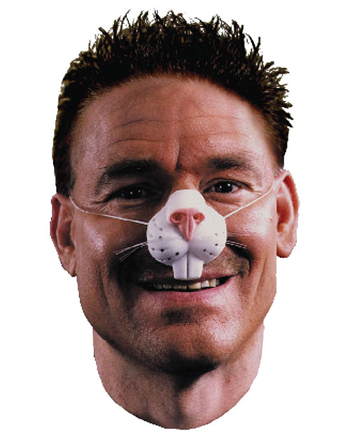 Halloween Costumes FA16 Men Nose Rabbit With Elastic Band at GotApparel