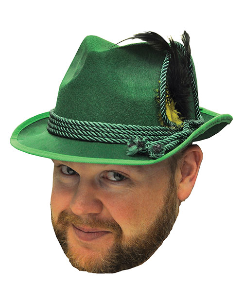 Halloween Costumes FM64580 Unisex Octoberfest Hat Green One Size at GotApparel