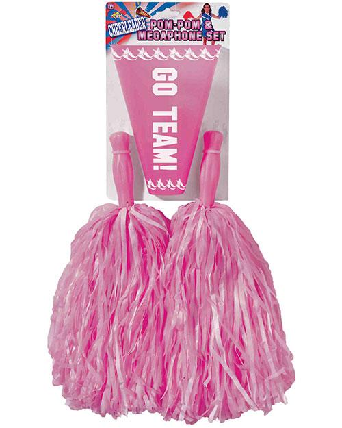 Halloween Costumes FM68681 Unisex Pom Set Pink at GotApparel