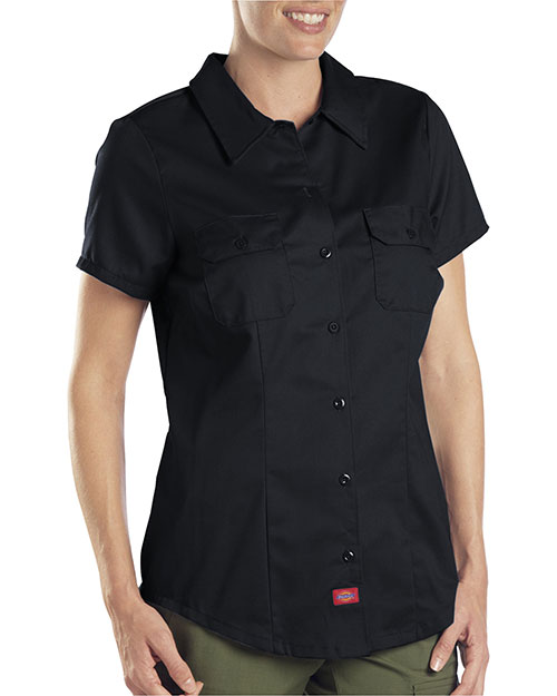 Dickies Workwear FS574 Women 5.25 oz. Twill Shirt at GotApparel