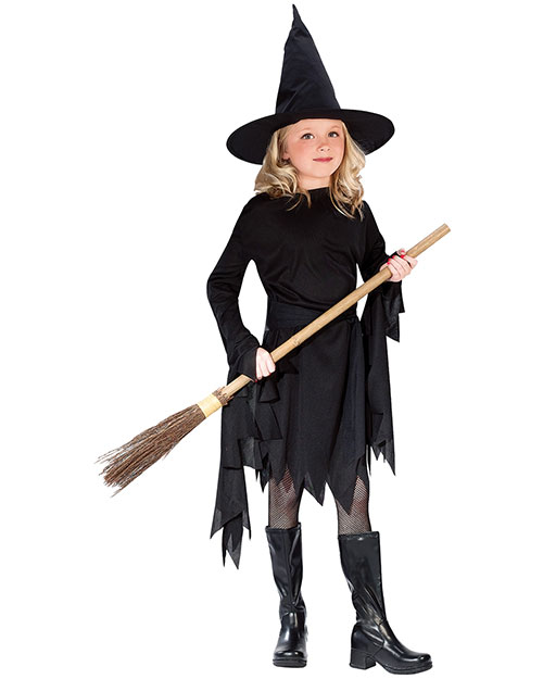 Halloween Costumes FW9721MD Boys   Classic Witch Child Med 810 at GotApparel