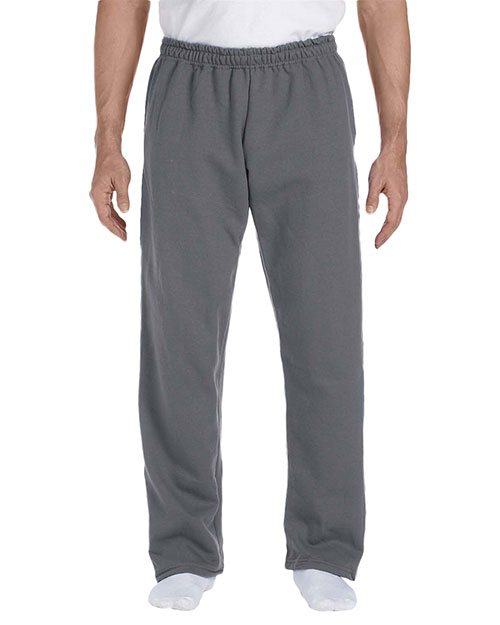 Gildan G123 Men Dryblend 9.3 Oz. 50/50 Open-Bottom Sweatpants at GotApparel