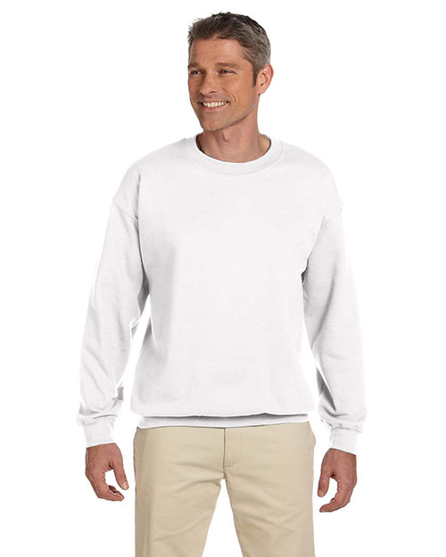 Gildan G180 Men Heavy Blend 8 Oz. 50/50 Fleece Crew at GotApparel