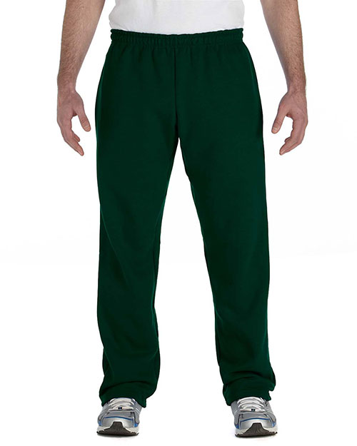 Gildan G184 Men Heavy Blend 8 Oz. 50/50 Open-Bottom Sweatpants at GotApparel