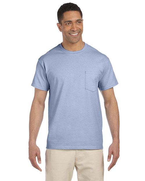Gildan G230 Men Ultra Cotton  6 Oz. Pocket T-Shirt at GotApparel