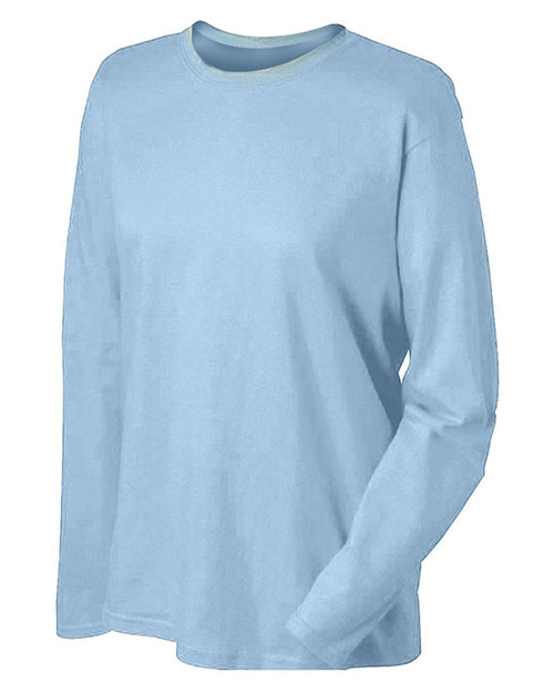 Gildan G240L Women 6.1 Oz. Ultra Cotton Long-Sleeve T-Shirt at GotApparel