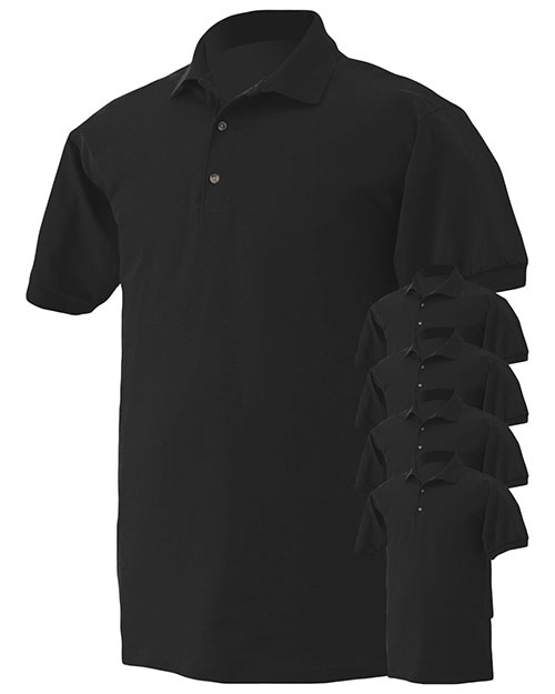 Gildan G280 Men Ultra Cotton 6 Oz. Jersey Polo 5-Pack at GotApparel