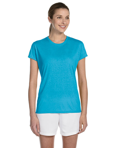 Gildan G420L Women Performance 4.5 oz. T-Shirt at GotApparel