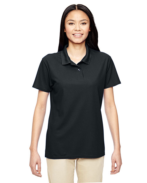 Gildan G458LL Women Performance  5.6 Oz. Double Pique Polo at GotApparel