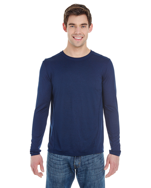 Gildan G474 Adult Tech Long-Sleeve T-Shirt at GotApparel