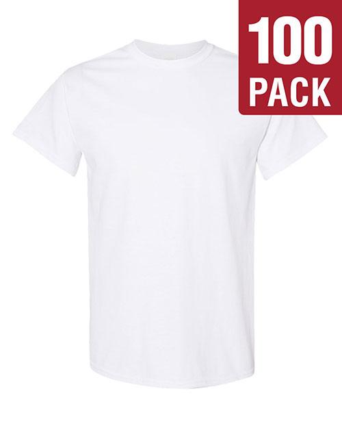 Gildan Mens 5.3 oz Heavy Cotton T-Shirt 10 Pack G500 All Sizes