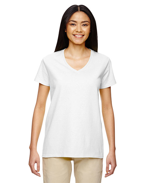 Gildan G500VL Women Heavy Cotton 5.3 oz. V-Neck T-Shirt at GotApparel