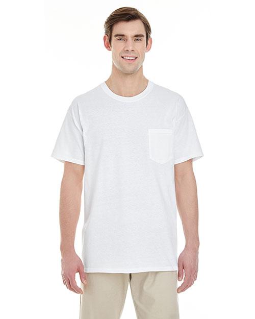 Gildan G530 Men 5.3oz. Pocket T-Shirt at GotApparel