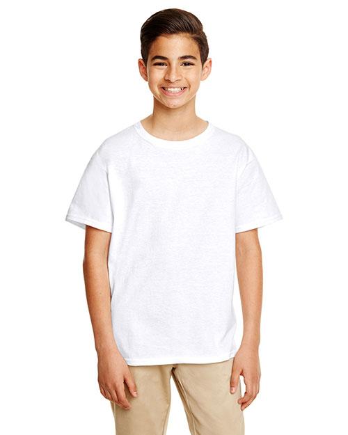 Gildan G645B Boys Softstyle® 4.5 oz. T-Shirt at GotApparel