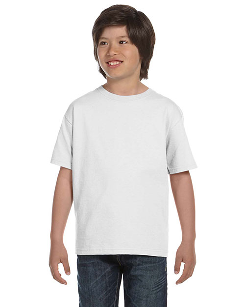 Gildan G800B Youth DryBlend 5.6 oz., 50/50 T-Shirt at GotApparel