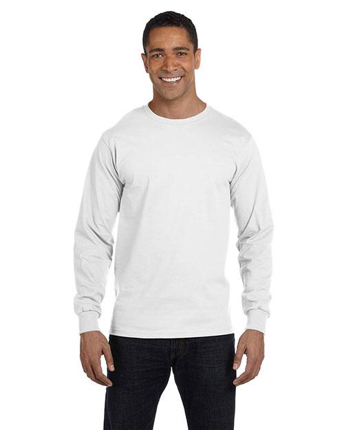 Gildan G840 Men Dryblend 5.6 Oz. 50/50 Long-Sleeve T-Shirt at GotApparel